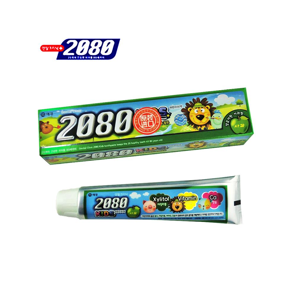 爱敬2080儿童牙膏苹果味80g 积分:                 2000