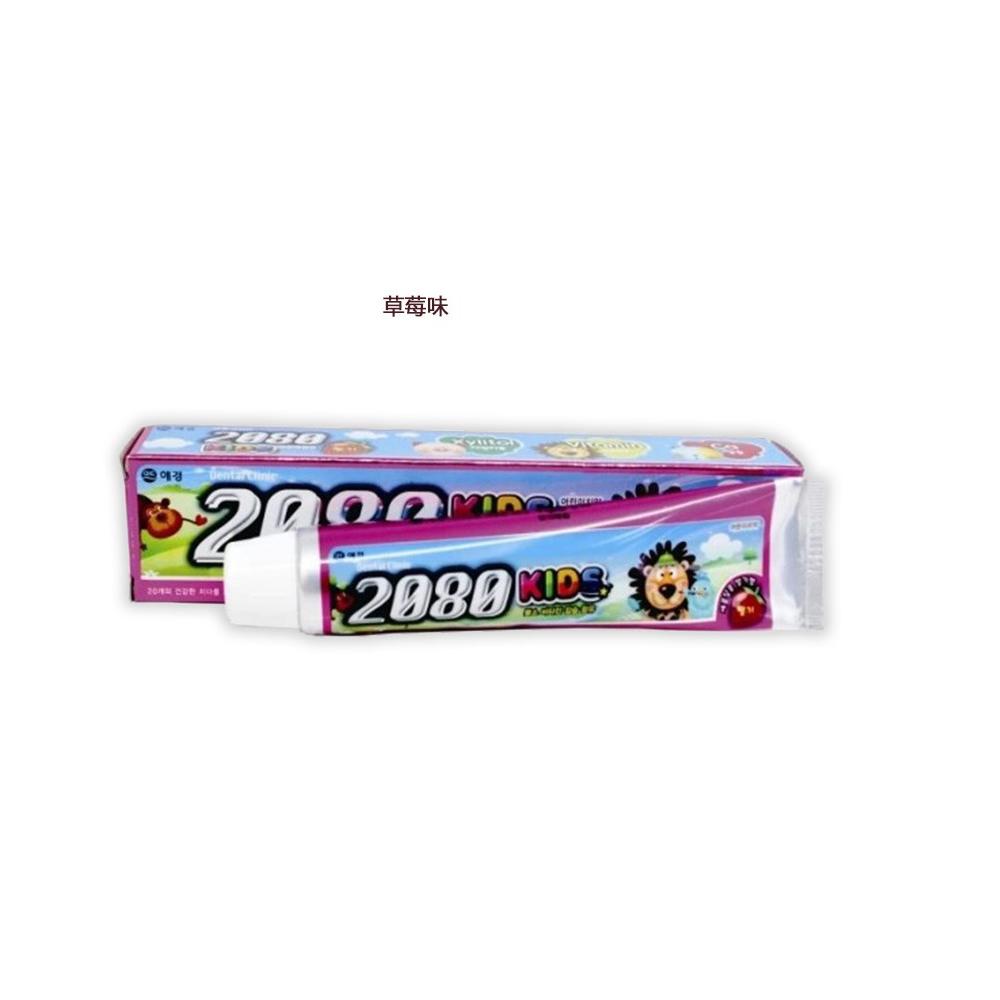 爱敬2080儿童牙膏草莓味80g 积分:                 2000